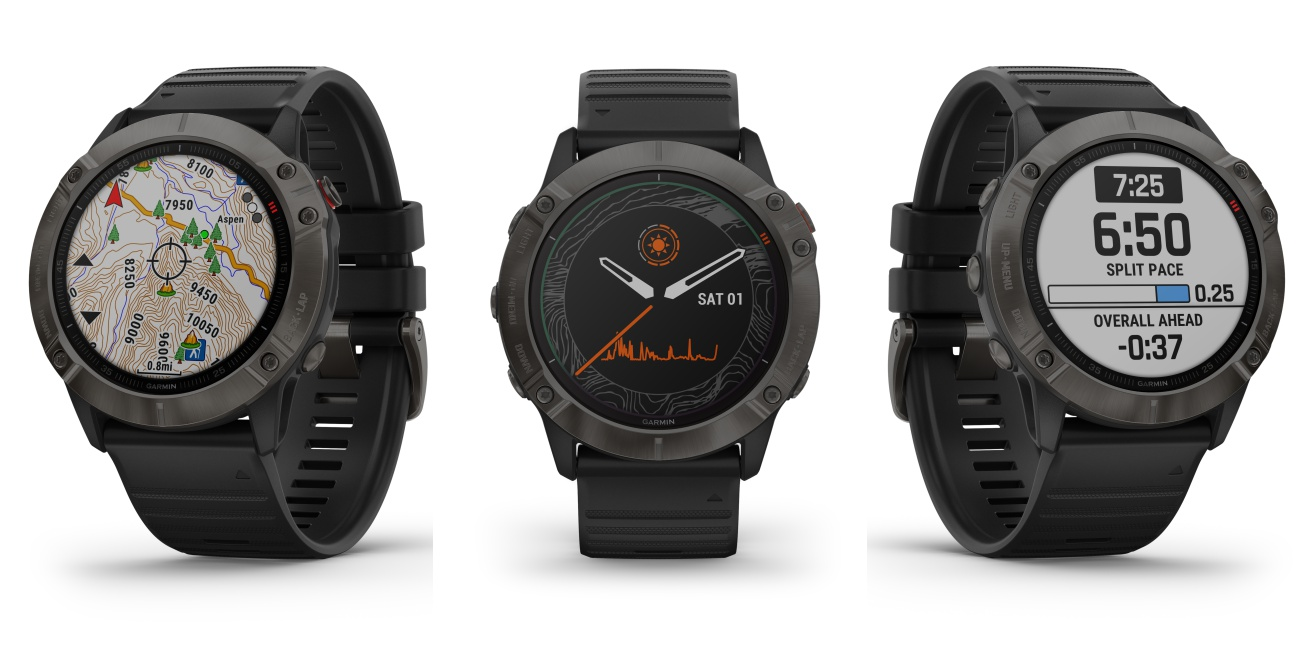 garmin fenix 6x series multisport watch - 为探险家而设!全方位 Garmin Fenix 6 智能表