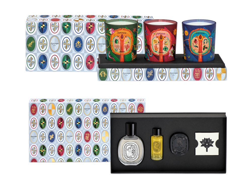 Dyptique limited edition winter collection 2019 set of 3 candles - 女伴最想收到的礼物! Diptyque 佳节系列传递幸运