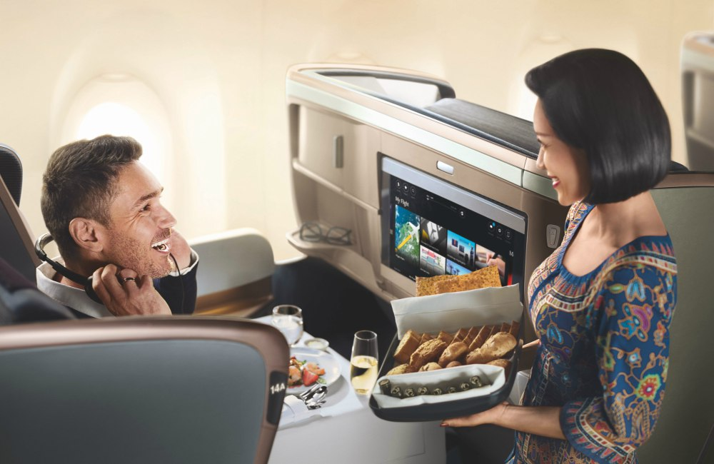 Flying to Dusseldorf with Singapore Airlines Cabin Services - 与新加坡航空飞抵 DUSSELDORF 展开美妙旅程