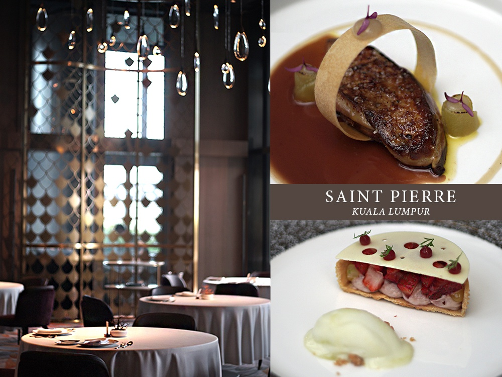 Food Review Saint Pierre W Hotel - Saint Pierre 无以伦比的法国料理