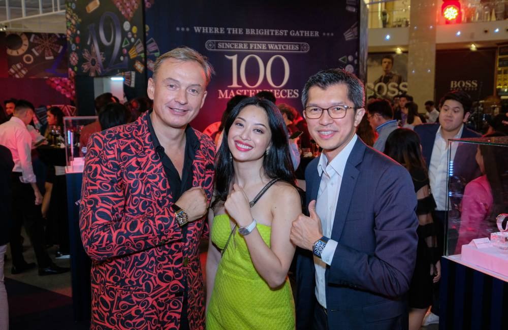 Franck Muller 100 Masterpieces Exhibition With Sincere Fine Watches Guests Sarah Lian - 百强杰作盛大庆典:100 MASTERPIECES 独家表展