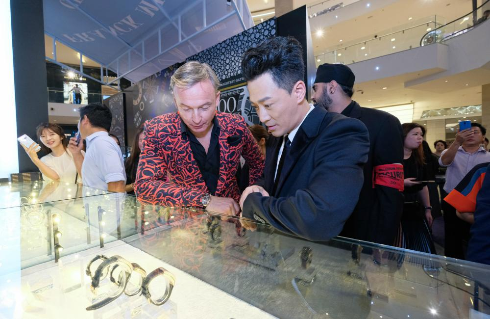 Franck Muller 100 Masterpieces Exhibition With Sincere Fine Watches Raymond Lam 1 - 百强杰作盛大庆典:100 MASTERPIECES 独家表展
