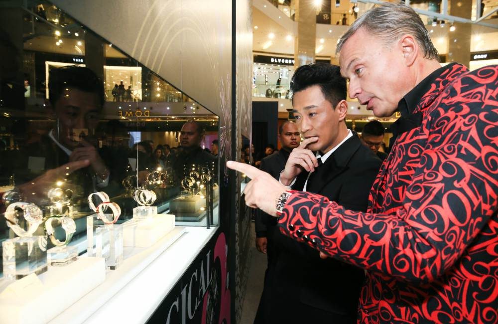 Franck Muller 100 Masterpieces Exhibition With Sincere Fine Watches Raymond Lam - 百强杰作盛大庆典:100 MASTERPIECES 独家表展