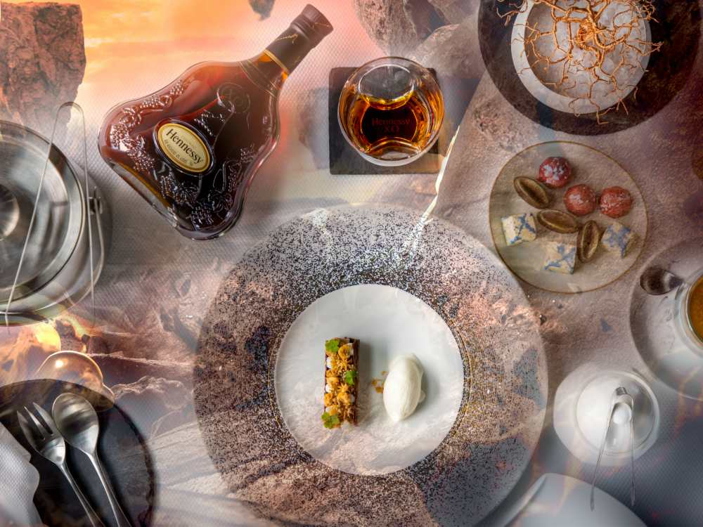 Hennessy X.O x Saint Pierre Presented The Seven Worlds Dining Experience Chocolate Lull - 进入 Hennessy X.O 的 The Seven Worlds 用餐体验