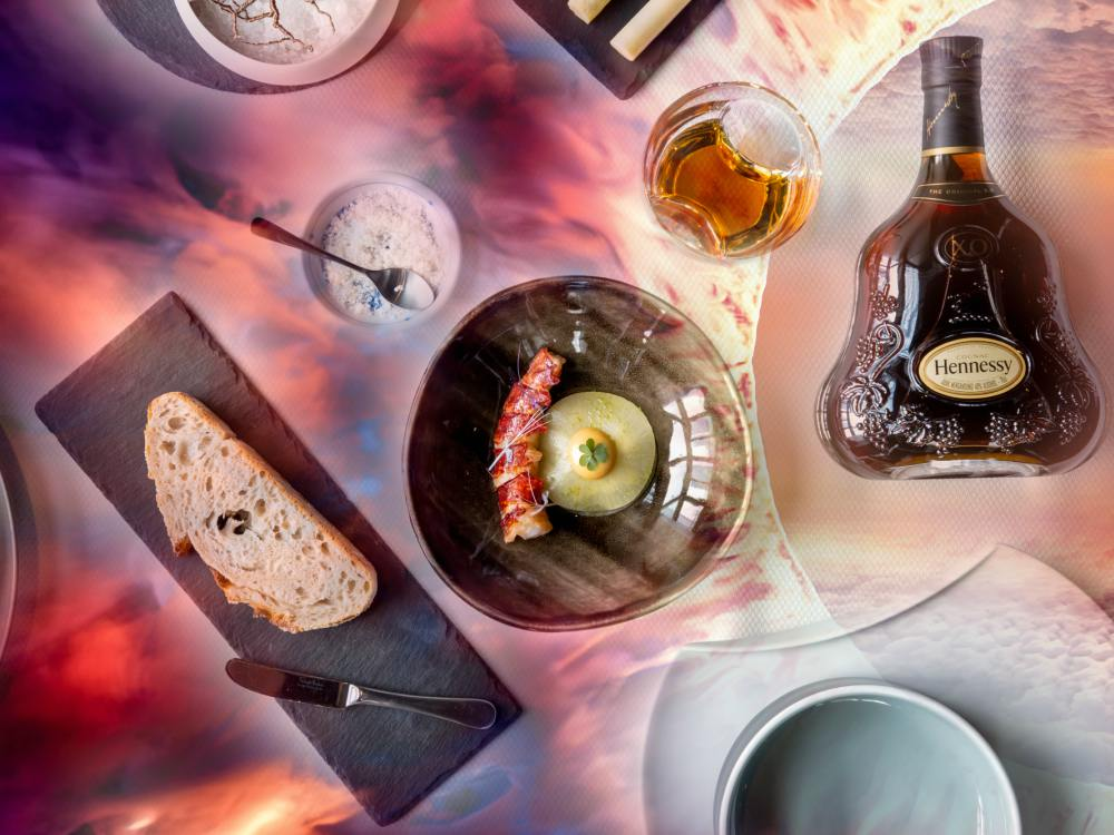 Hennessy X.O x Saint Pierre Presented The Seven Worlds Dining Experience Flowing Flames - 进入 Hennessy X.O 的 The Seven Worlds 用餐体验