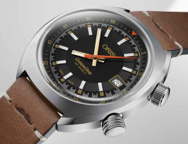 ORIS Chronoris Movember Edition cover 600x460 - 行善不留余力:ORIS 第三年与 Movember 基金会合作