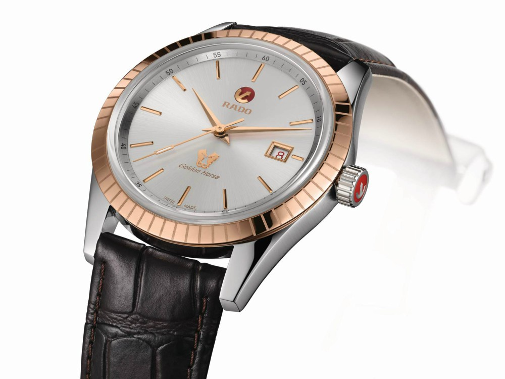WatchWatches Rado Tradition Golden Horse 8 - 复古设计 现代演绎:RADO Tradition Golden Horse