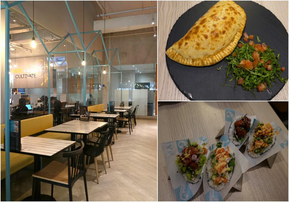 eat at NEST space the curve - Co-Working 新概念 NEST 提供多样美食!