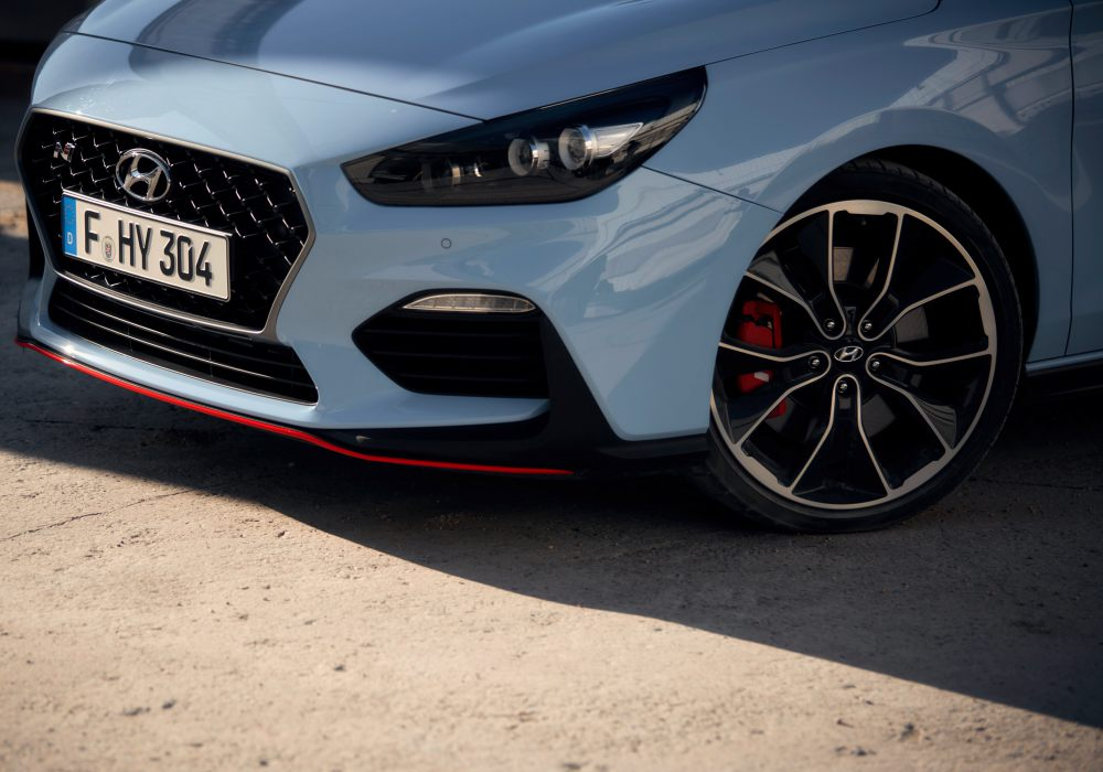 Hyundai i30N Performance front - 韩系热血风潮来袭!Hyundai i30N Performance
