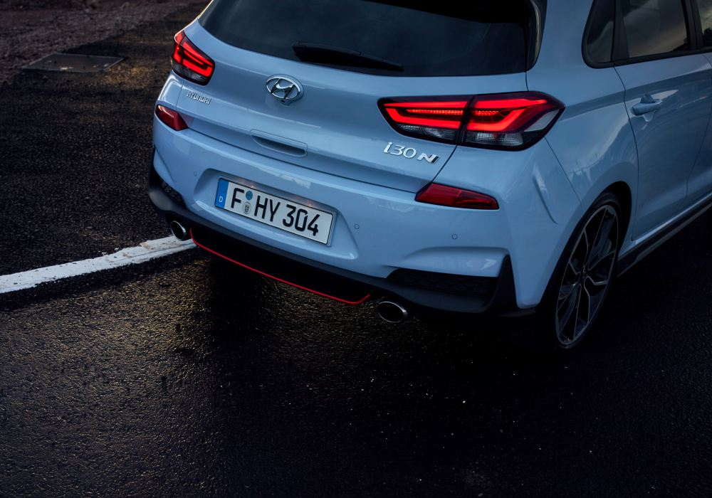 Hyundai i30N Performance rear - 韩系热血风潮来袭!Hyundai i30N Performance