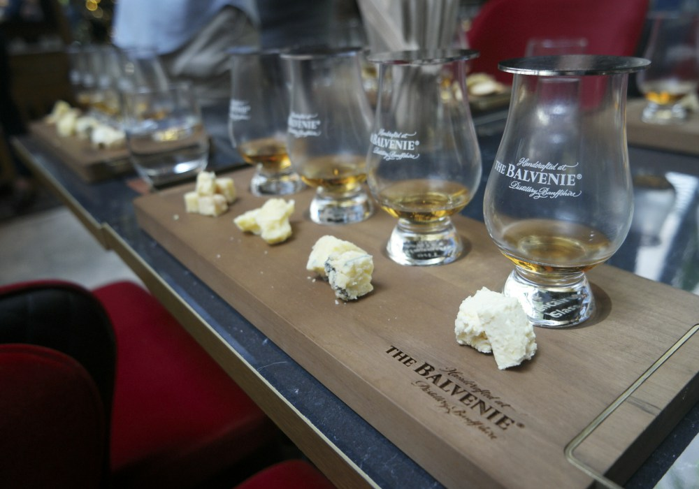 The Balvenie New SEA Regional Ambassador James Cordiner Cheese Pairing - The Balvenie 新任区域品牌大使: James Cordiner