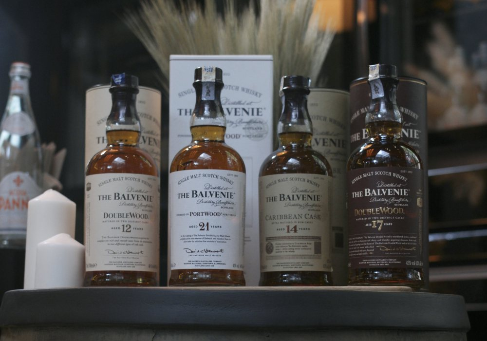 The Balvenie New SEA Regional Ambassador James Cordiner Core Range - The Balvenie 新任区域品牌大使: James Cordiner
