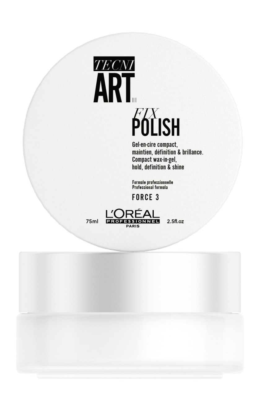 L'Oréal Professionnel Tecni.Art Fix Polish  - 新升级 L'Oréal Professionnel Tecni.Art 造型系列 演绎法式型男魅力