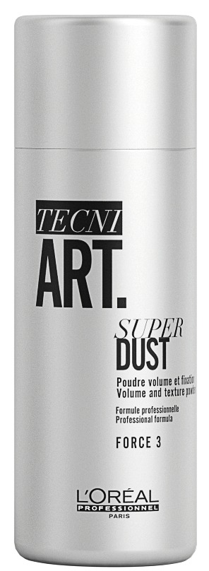 L'Oréal Professionnel Tecni.Art Super Dust  - 新升级 L'Oréal Professionnel Tecni.Art 造型系列 演绎法式型男魅力