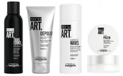 L'Oréal Professionnel Tecni.Art stying products 240x150 - 新升级 L'Oréal Professionnel Tecni.Art 造型系列 演绎法式型男魅力