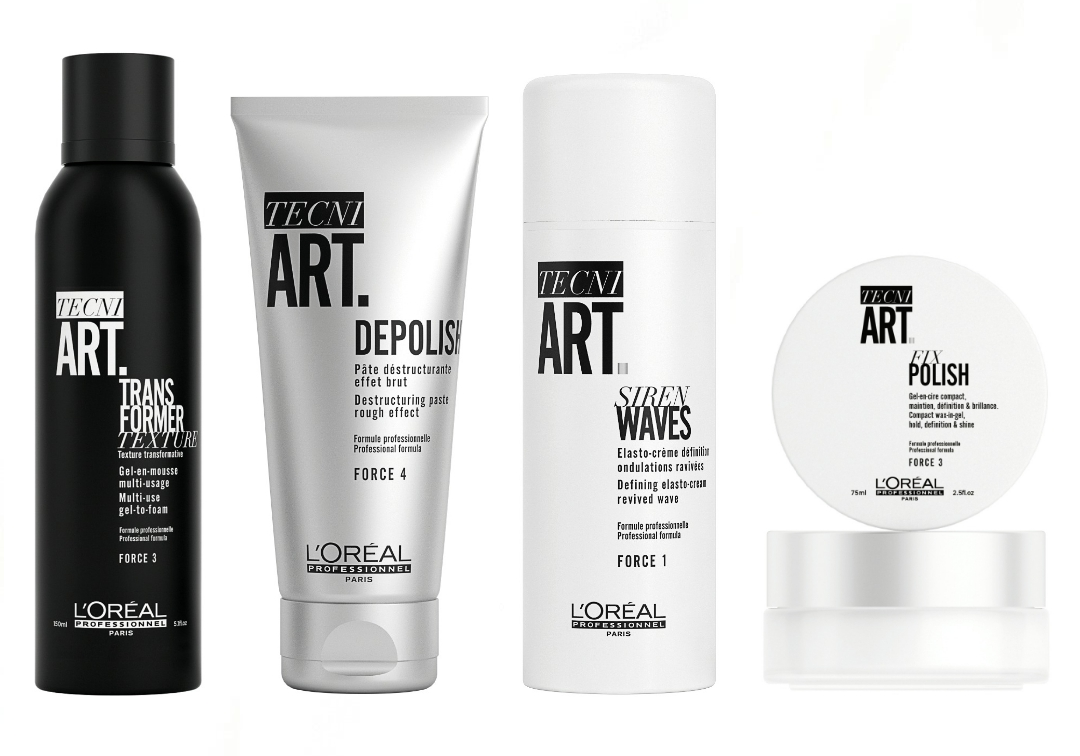 L'Oréal Professionnel Tecni.Art stying products - 新升级 L'Oréal Professionnel Tecni.Art 造型系列 演绎法式型男魅力