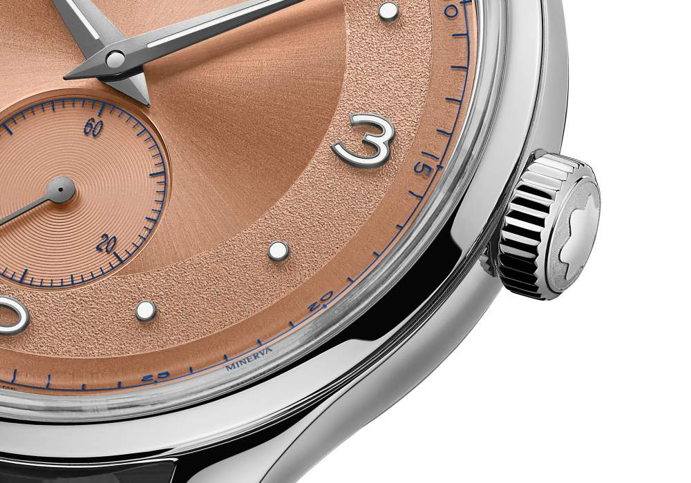 Montblanc Heritage Small Second Limited Edition 38 003 - Montblanc Heritage Small Second LE. 38 承袭经典魅力