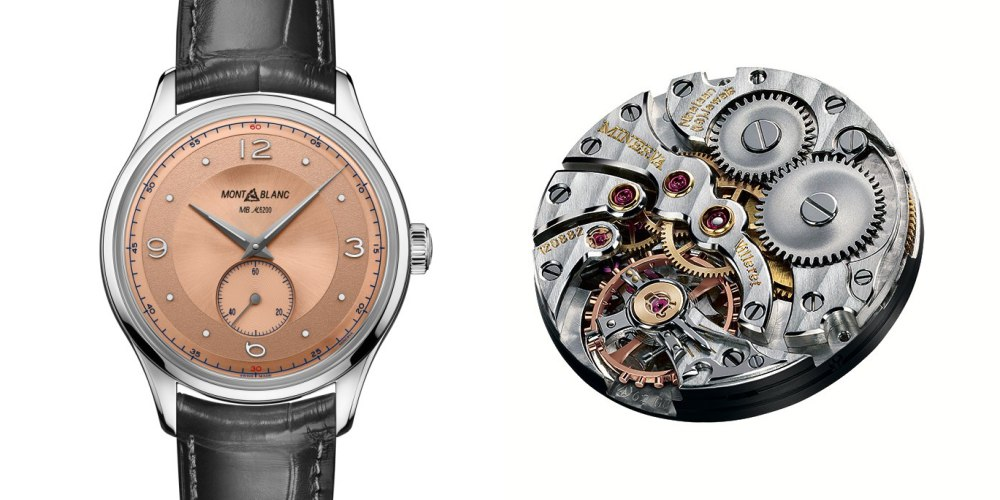 Montblanc Heritage Small Second Limited Edition 38 005 - Montblanc Heritage Small Second LE. 38 承袭经典魅力