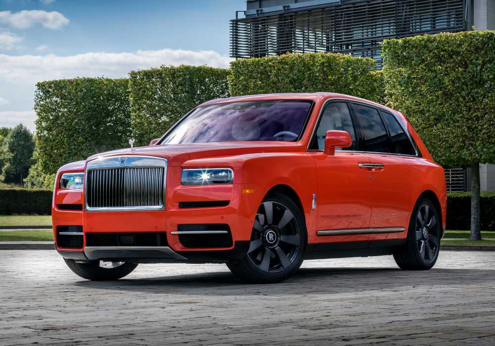 Cullinan Fux in Orange exterior - 回顾'19年 Rolls-Royce 高级定制的匠心杰作