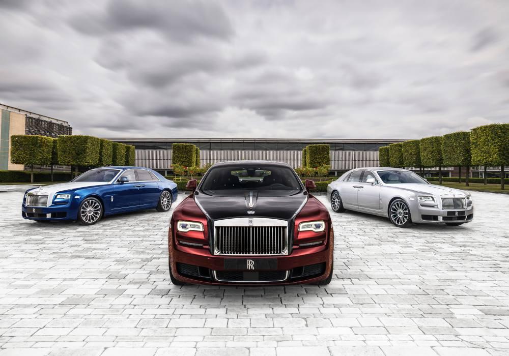 Ghost Zenith Group Shot - 回顾'19年 Rolls-Royce 高级定制的匠心杰作