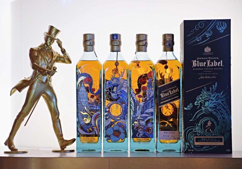 Johnnie Walker Blue Label Limited Edition Penang Design Image 1b 3 - 新禧献礼珍品: JW Blue Label 槟城限量版