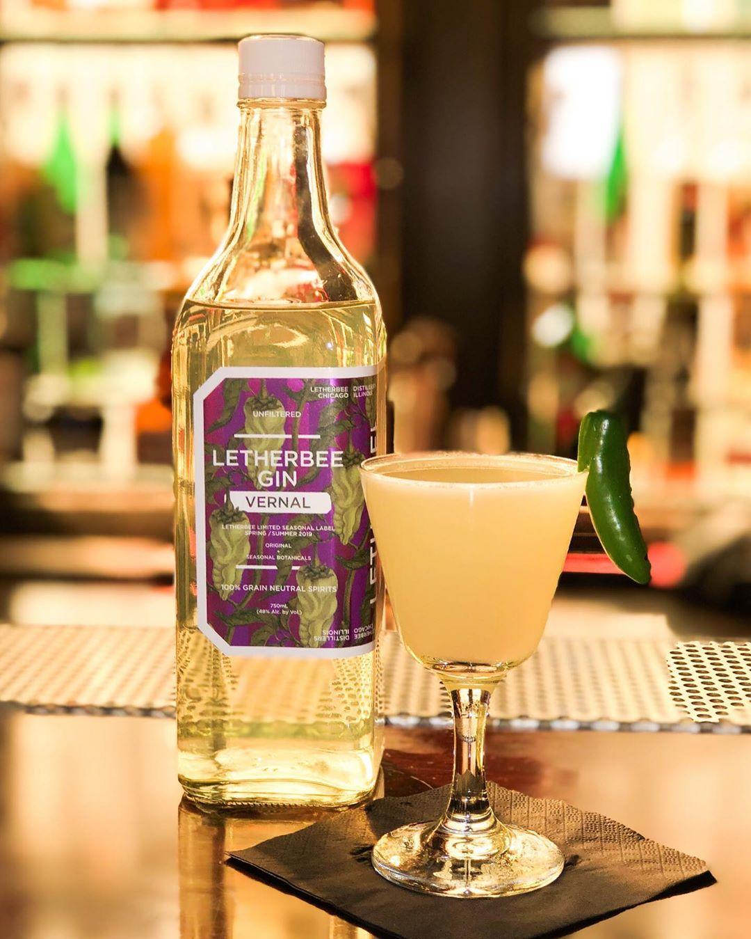 Letherbee Vernal Gin moodshot - 4款辣酒,让你越喝越过瘾