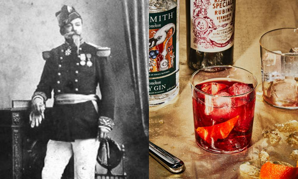 Negroni cocktail 001 - 世纪鸡尾酒 Negroni 的 6 个小知识