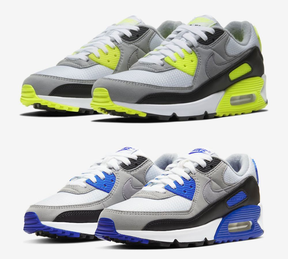 Nike Air Max 90 colorway - 引领潮流30年:Air Max 90 重新面貌再出击
