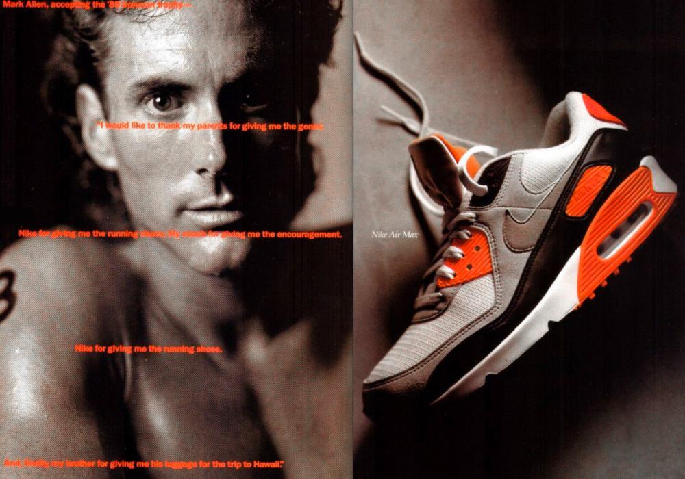 Nike Air Max 90 vintage ad - 引领潮流30年:Air Max 90 重新面貌再出击