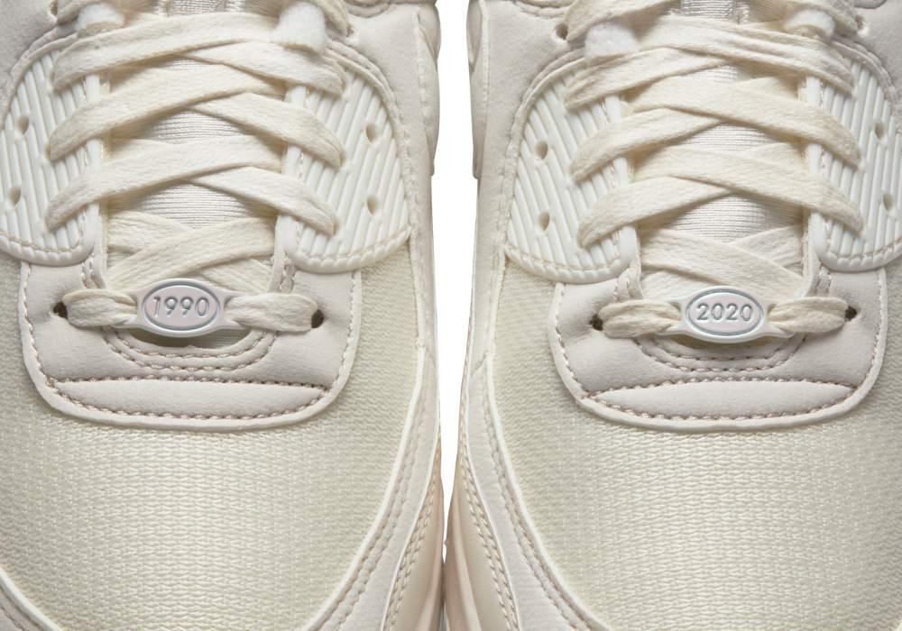 Nike Air Max 90 white3 - 引领潮流30年:Air Max 90 重新面貌再出击