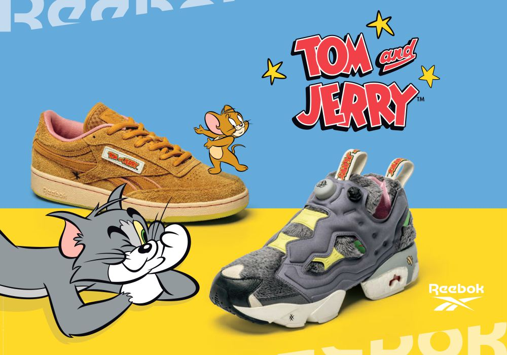 Reebok x Tom Jerry 001 - Reebok x Tom & Jerry: 回味童年必追卡通