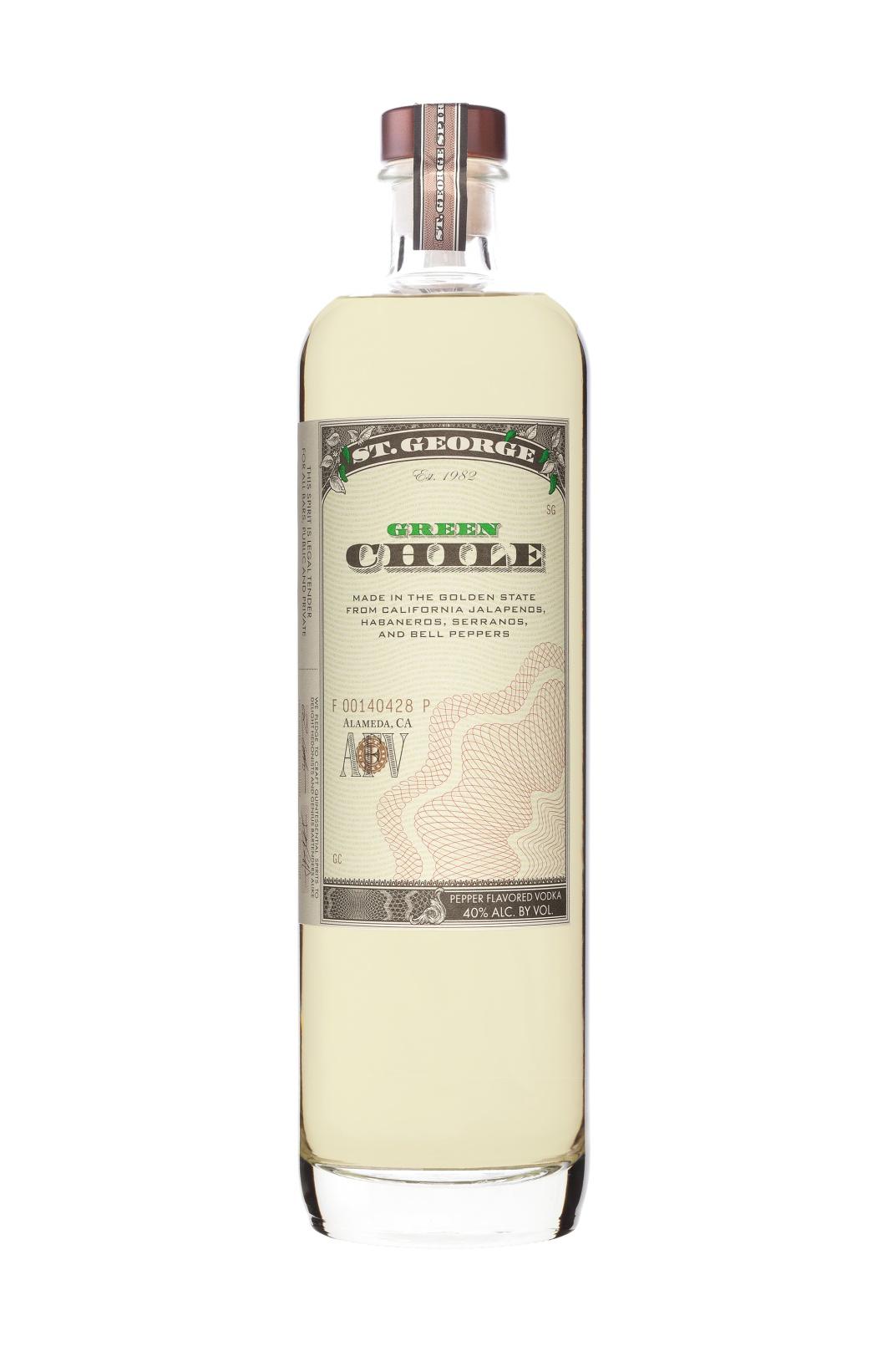 St George Green Chile Vodka - 4款辣酒,让你越喝越过瘾
