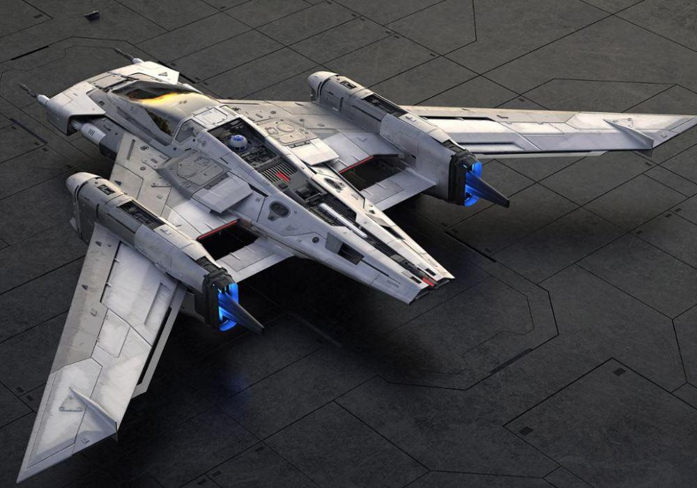 porsche lucasfilm 001 - Porsche x Lucasfilm 打造 Star Wars 梦幻星际飞船