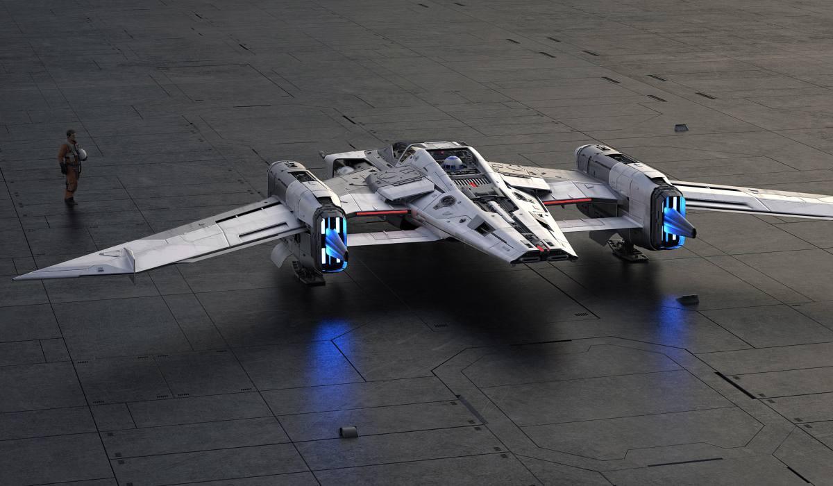 porsche lucasfilm 002 - Porsche x Lucasfilm 打造 Star Wars 梦幻星际飞船