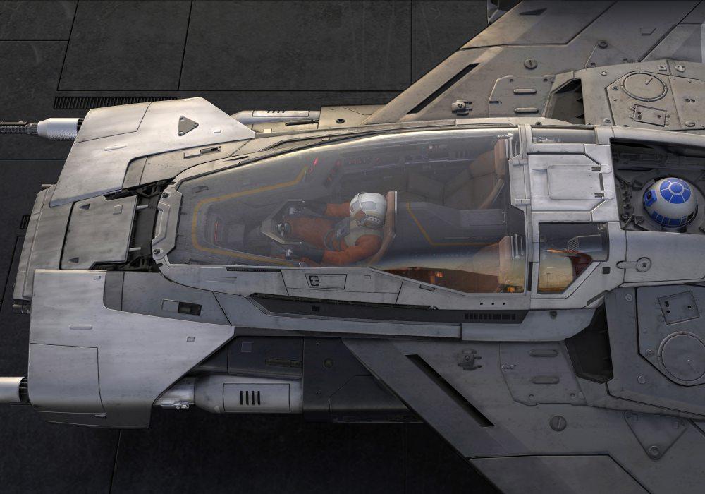 porsche lucasfilm 003 - Porsche x Lucasfilm 打造 Star Wars 梦幻星际飞船