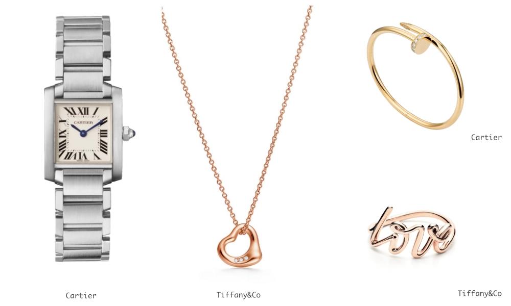 5 valentine gift for her cartier watches - 情人节手册:女生最想收到的礼物 Top 10