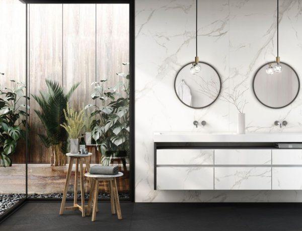 Cosentino 001 600x460 - 灰白色调打造典雅时尚的浴室空间