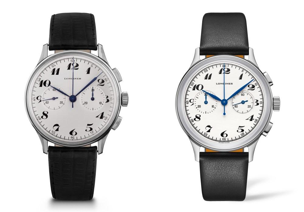 Longines Heritage Classic Chronograph 1946 compare - 隽永表款完美复刻: Longines Heritage Classic Chronograph 1946