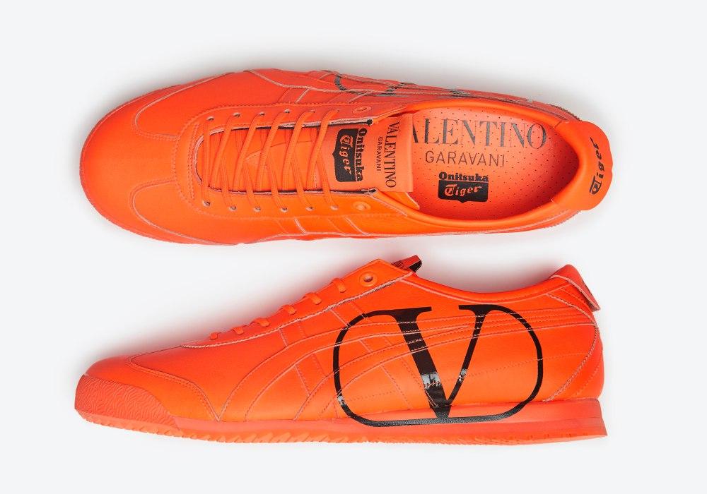 OTx Valentino 002 - Onitsuka Tiger x Valentino 联名擦出耀眼火花