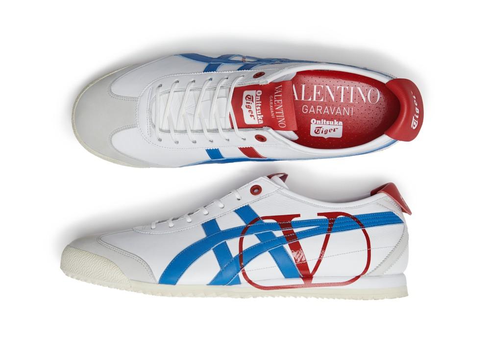 OTx Valentino tricolor - Onitsuka Tiger x Valentino 联名擦出耀眼火花