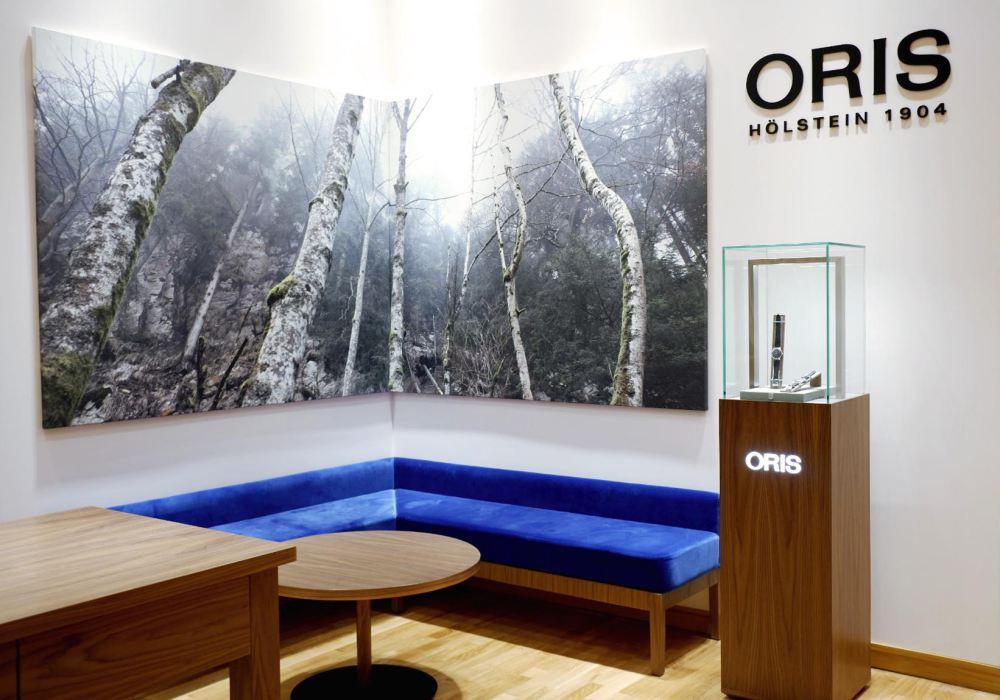 Oris Pyramid 004 - 非一般的顾客体验:ORIS 全新概念旗舰店