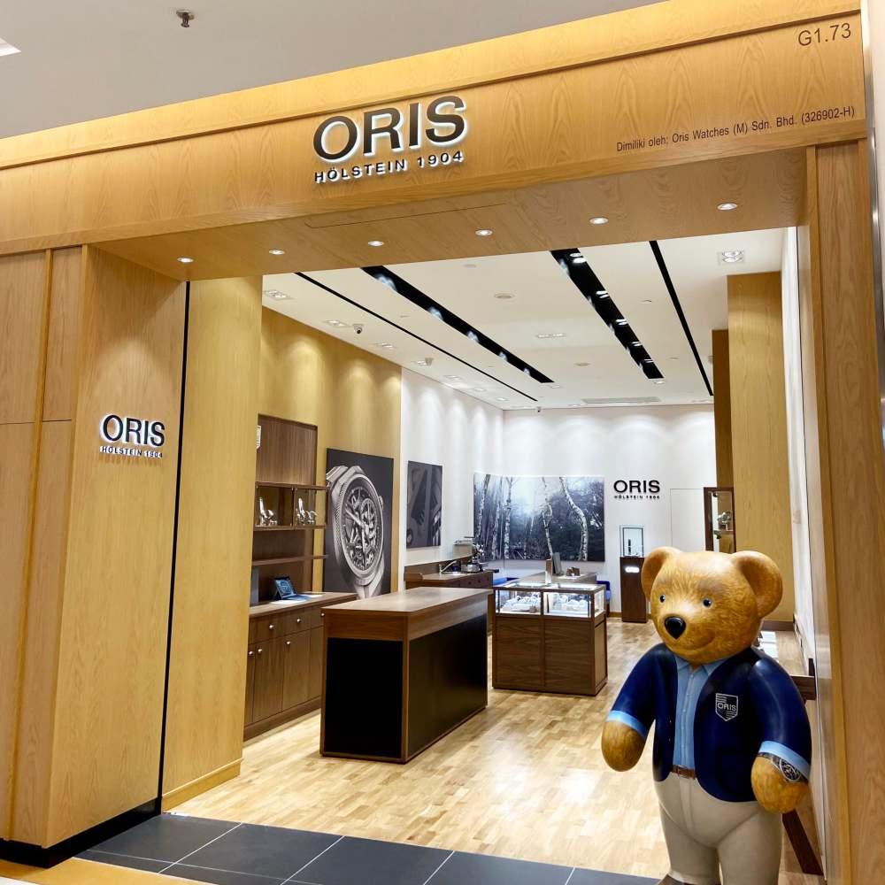 Oris Pyramid 006 - 非一般的顾客体验:ORIS 全新概念旗舰店
