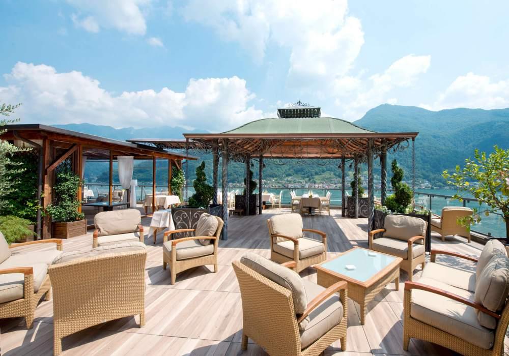 Swiss Diamond Hotel Lugano 003 - 入住 WorldHotels 顶级酒店; 沉醉在浪漫二人世界里
