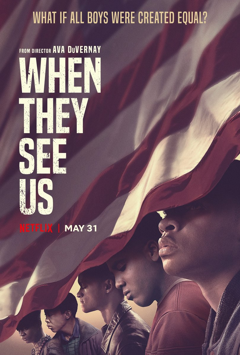When They See Us poster - 编辑私藏;真的看过才推荐的剧集清单