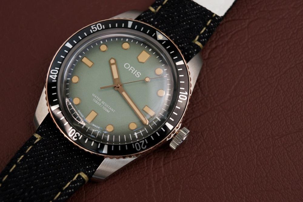 Oris x Momotaro watch review - [编辑试戴] 是牛仔表带!必收藏的 Oris x Momotaro 潜水表
