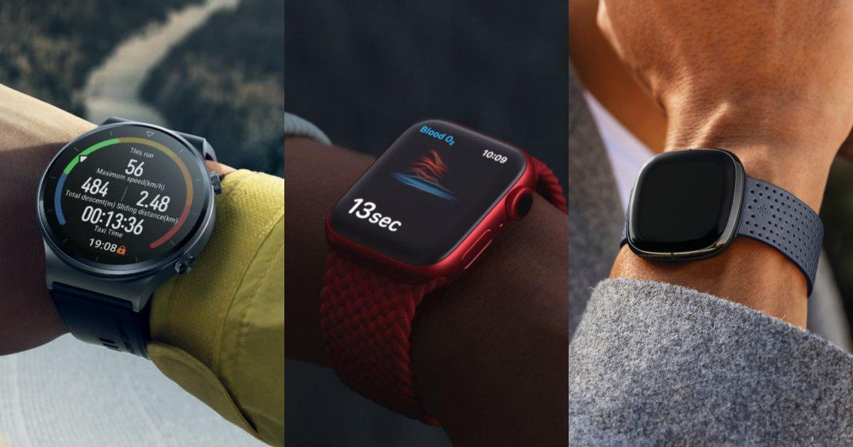 best smartwatches 2021 malaysia - 5款最新智能腕表大比拼