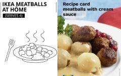 ikea meatball cream souce recipe official 240x150 - 不私藏!Ikea 公开经典肉丸制作食谱