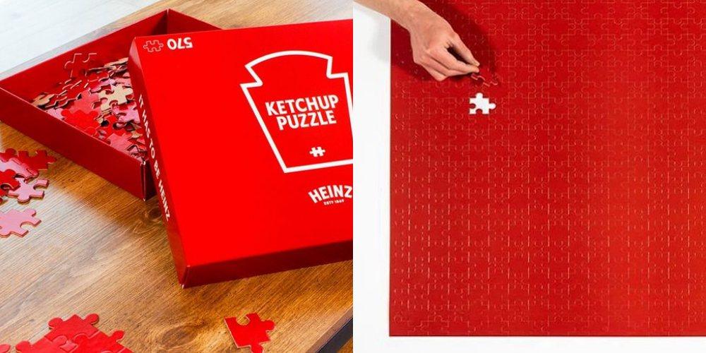 Heinz Puzzle - 让人抓狂的暗黑版拼图,你敢挑战吗?