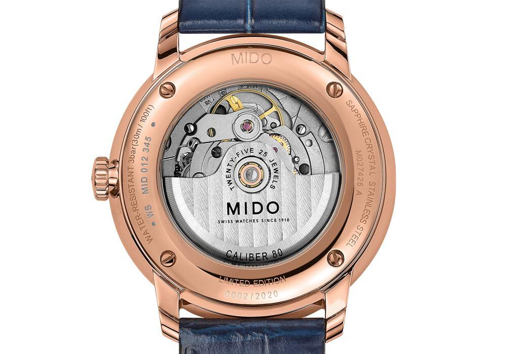 MIDO Baroncelli Big Date 001 - 展现古典绅士风范: MIDO Baroncelli Big Date 限量腕表