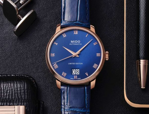 MIDO Baroncelli Big Date 007 600x460 - 展现古典绅士风范: MIDO Baroncelli Big Date 限量腕表